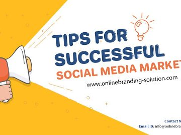 Tips For Successful Social Media marketing