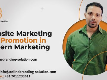 Website Marketing and Promotion in Modern Marketing